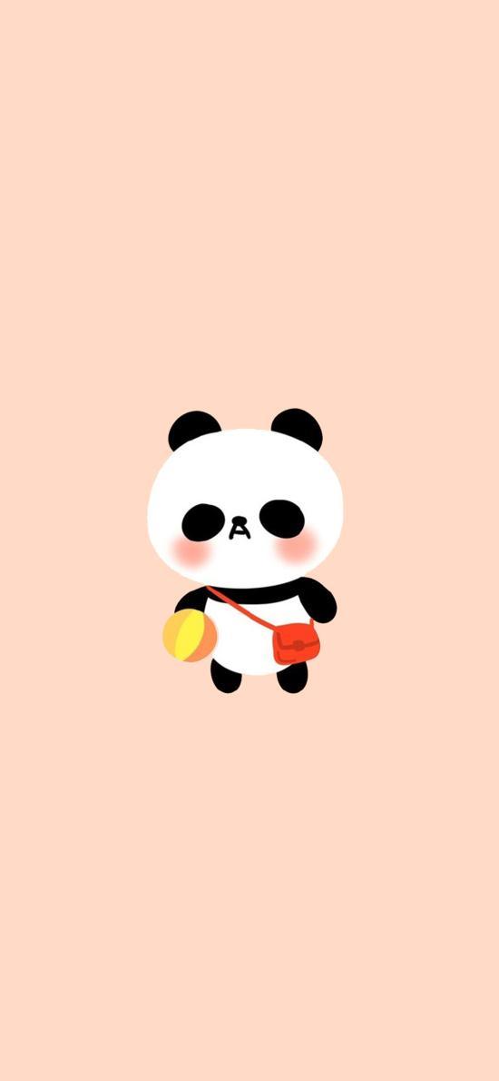 熊猫 可爱 卡通 创意