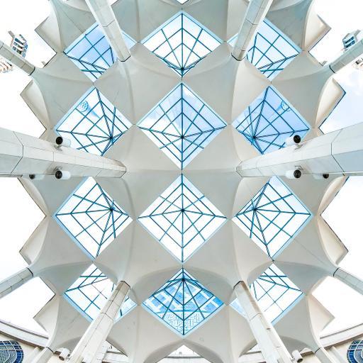建筑 设计 菱形 天花