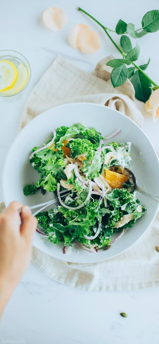 沙拉 素食 健康 蔬菜