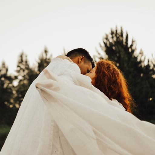 欧美情侣 拥吻 浪漫 爱情