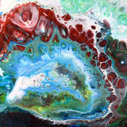 彩绘 水彩 绘画 水彩 抽象