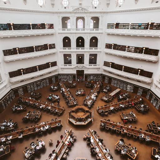 图书馆 安静 学习 建筑