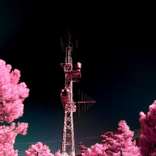 滤镜 铁塔 信号塔 高处