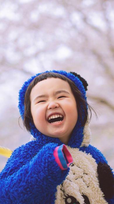 小蛮 小网红 小女孩 儿童 日本 樱花 欢乐