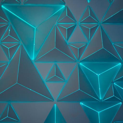 三维 立体 三角 创意