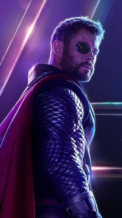 雷神托尔 复仇者联盟3 无限战争 电影 超级英雄 欧美 漫威