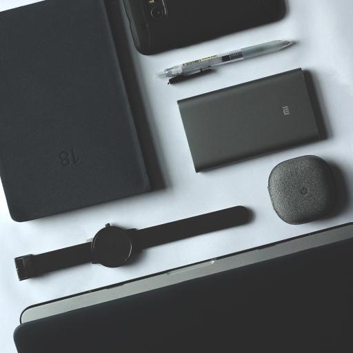 电子产品 苹果 静物 深灰 手表 笔记本