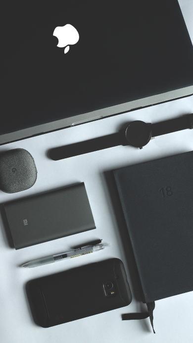 电子产品 深灰 手表 笔记本