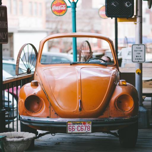 汽车 复古 甲壳虫 模型
