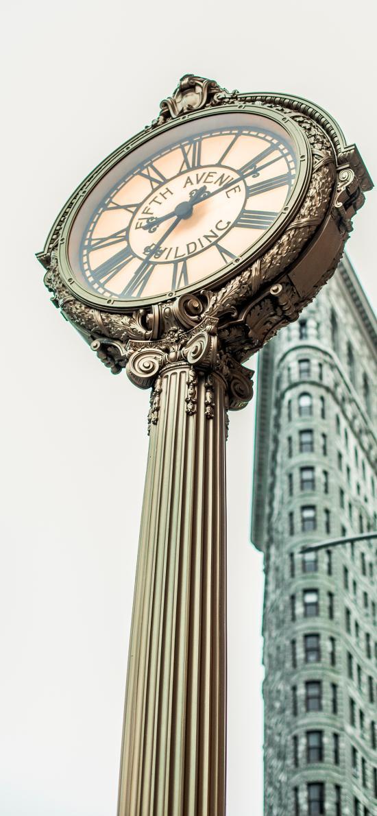 钟表 时间 街道 时钟