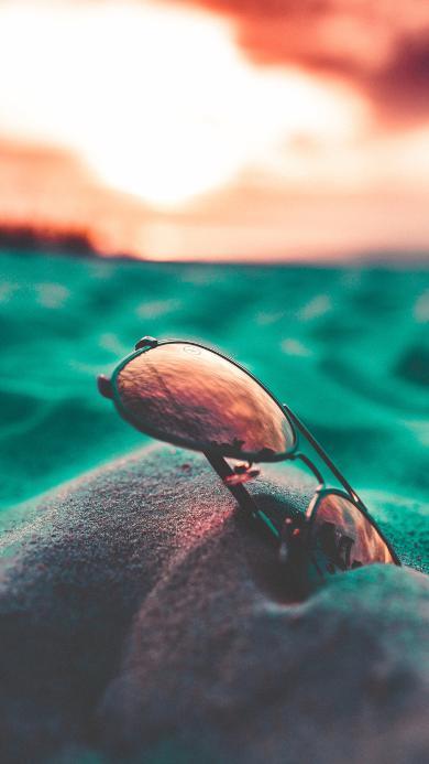 魔镜 沙滩 光线