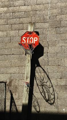篮球框 投篮 stop