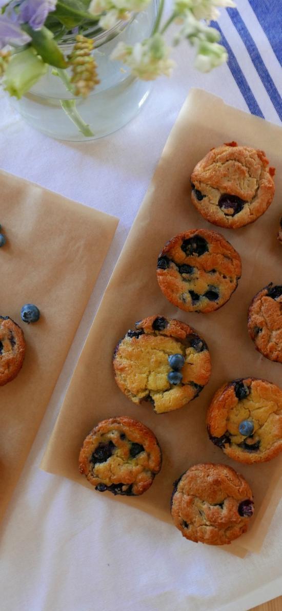 饼干 点心 烘焙 蓝莓