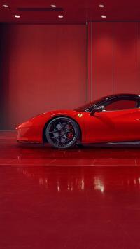 法拉利 超级跑车 红色 炫酷