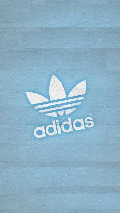 adidas 阿迪达斯 运动 品牌 三叶草 蓝色