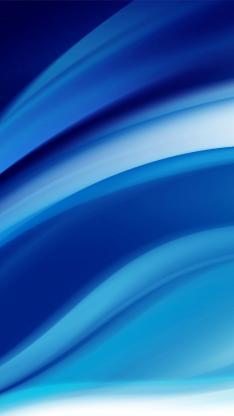 流动 蓝色 线条 渐变