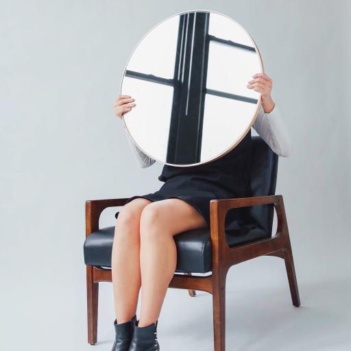 创意 摄影 镜子 椅子