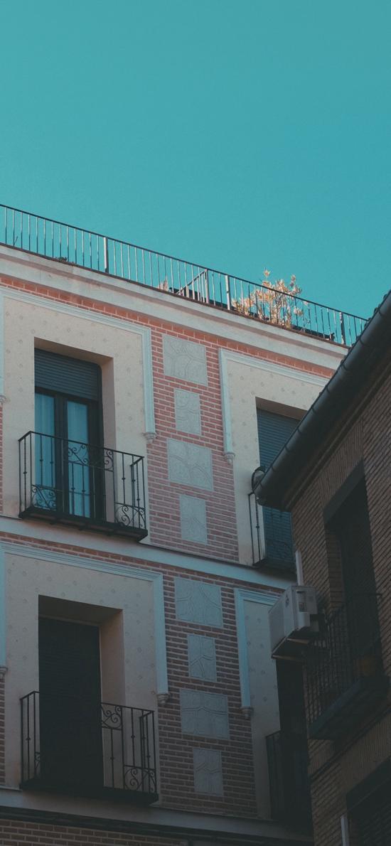 楼房 建筑 住宅 阳台