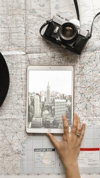 平板 iPad 相机 地图