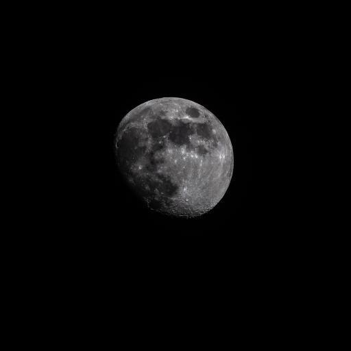 黑色背景 星球 行星 黑白