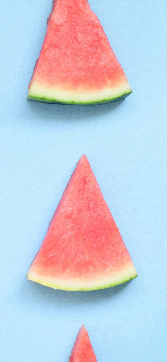 西瓜 夏日 解暑 水果 消暑 平铺