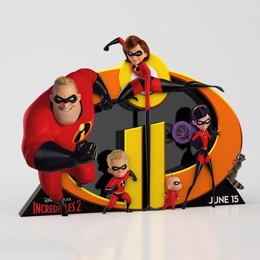 超人总动员 美国 电影 海报 动画