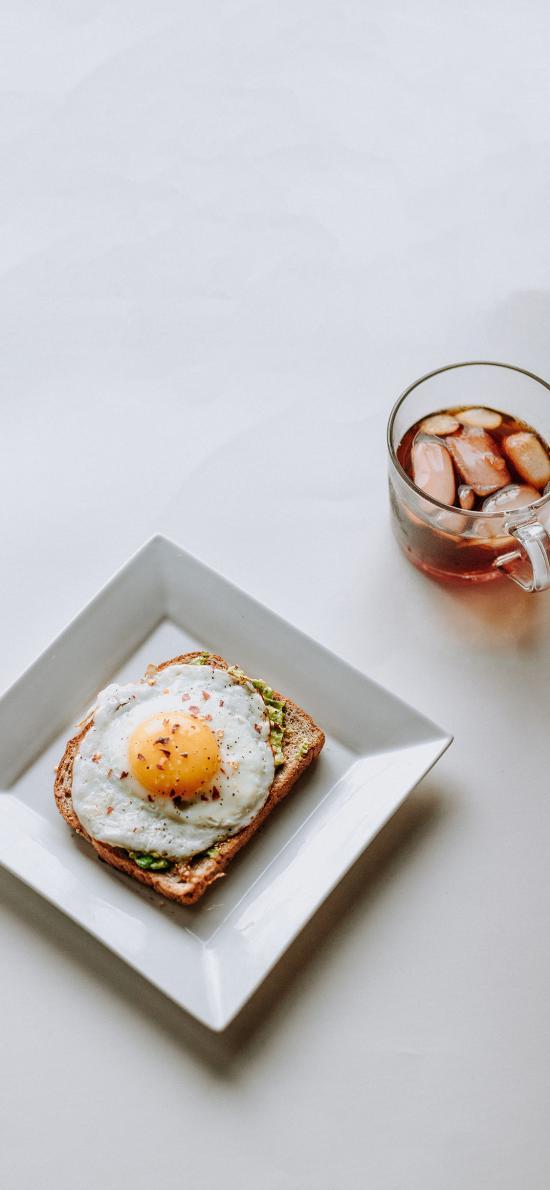 餐点 煎蛋 吐司
