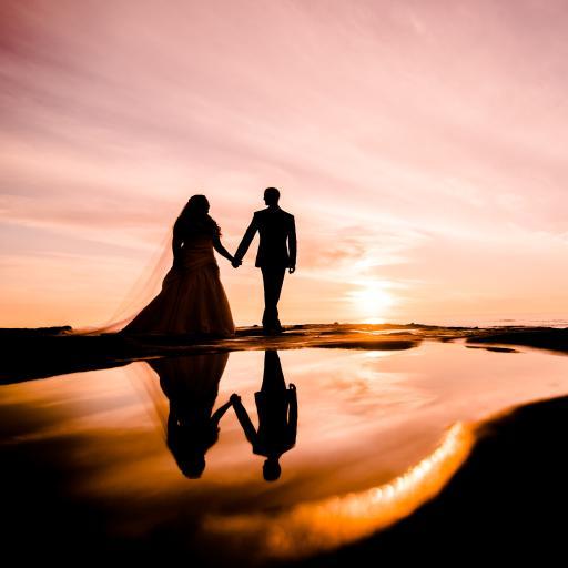 情侣 婚纱 唯美 写真 爱情
