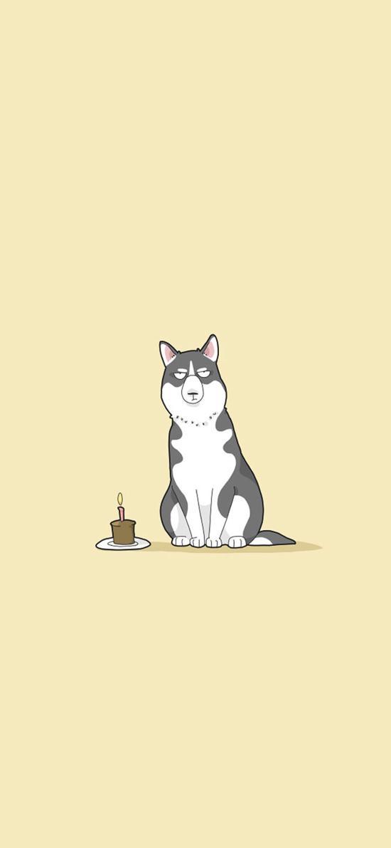 卡通 创意 狗 犬类
