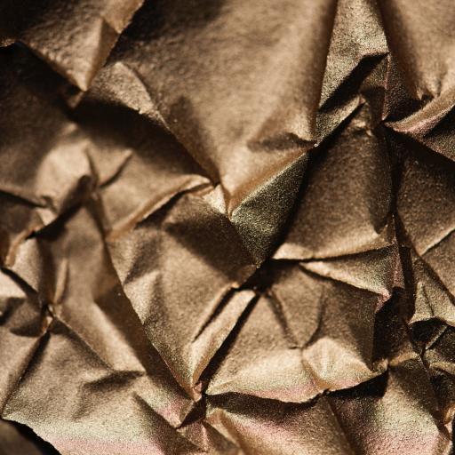 折纸 折痕 金色 简约