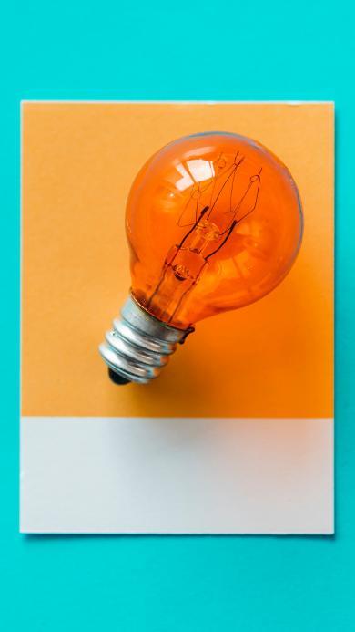 灯泡 创意 钨丝 照明 色彩