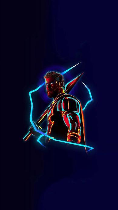 复仇者联盟3 无限战争 电影 雷神托尔 超级英雄 欧美 漫威