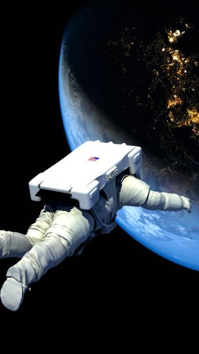 太空 宇航员 航空 太空服
