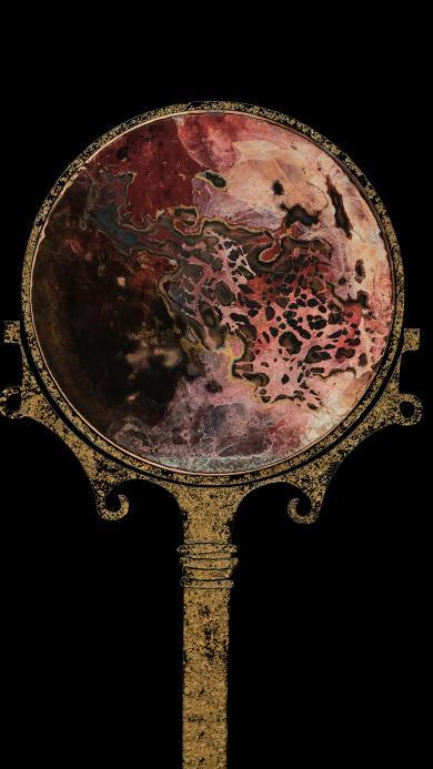 铜镜 氧化 腐蚀 镜子