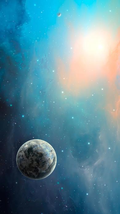 宇宙 蓝色 天文 星球 神秘