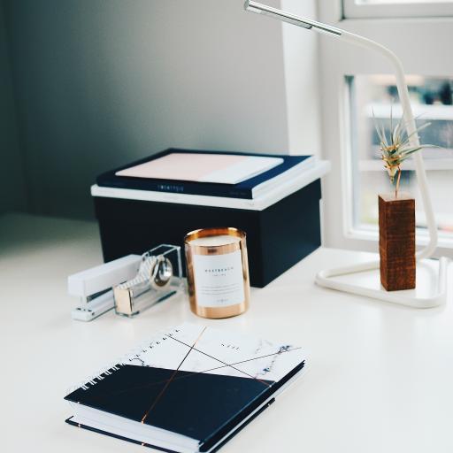 静物 笔记本 桌面 文具