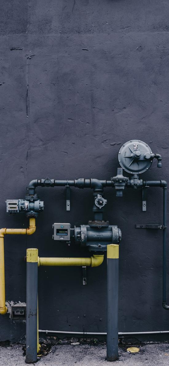 管道 连接 器械 仪表 灰色