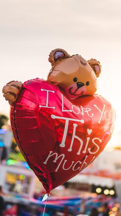 气球 爱心 爱情 love 浪漫