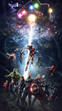 复仇者联盟3 无限战争 超级英雄 欧美 电影 海报