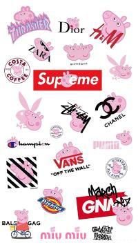 动画 小猪佩奇 品牌logo