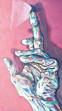 彩绘 手部 涂鸦 手绘