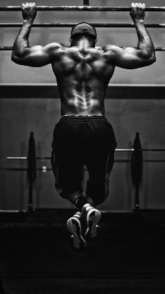 健身 体育 运动 肌肉 引体向上