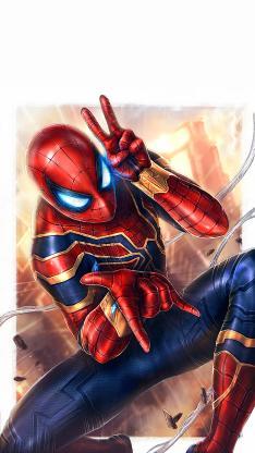 复仇者联盟 蜘蛛侠 剪刀手