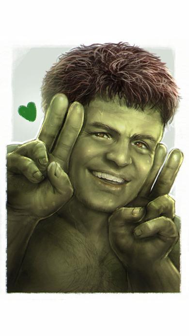复仇者联盟 绿巨人 剪刀手