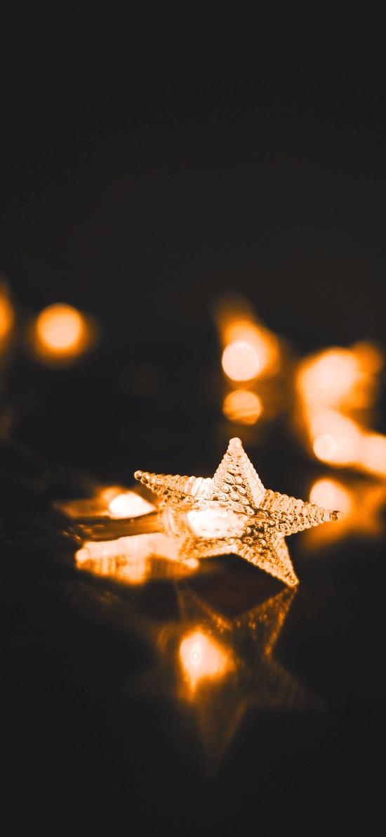 灯饰 星星 亮光  照明 装饰