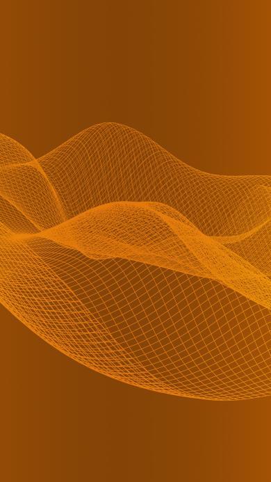 网 空间 黄色 抽象 曲线