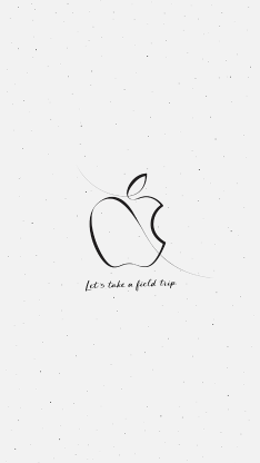 苹果 logo 品牌 简约 白色