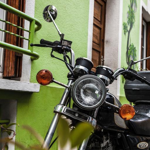 摩托车 太子 代步工具