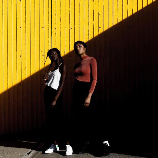欧美 黑人模特 服饰 造型