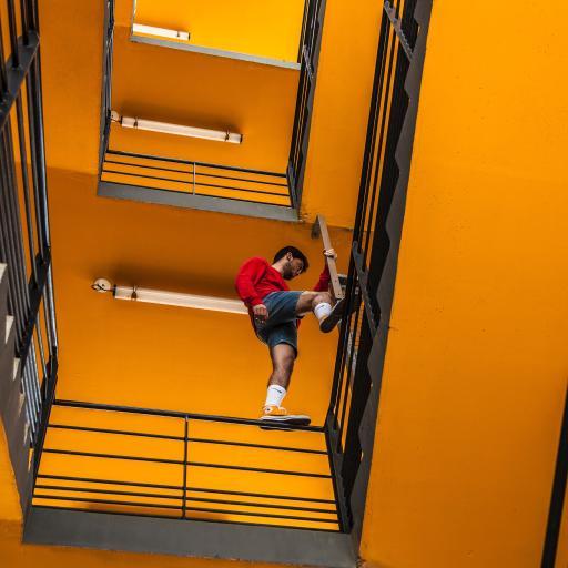 欧美型男 楼梯 写真